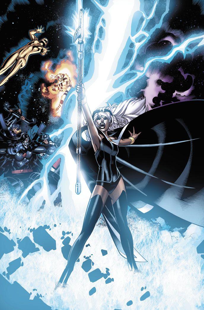 Storm Artist Chris Bachalo Black Panther & Storm X