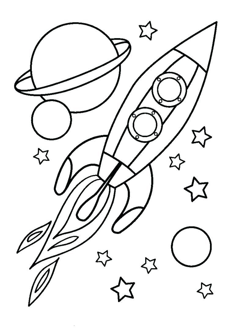 Coloring Pages For Boys Space Coloring Pages Planet