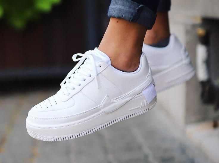 Nike Air Force 1 Jester XX Triple White  Adidas White Sneakers  Latest and fashionable shoes adidas adidassneakers sneakers  Nike Air Force 1 Jester XX Triple White is part of Nike shoes air force -