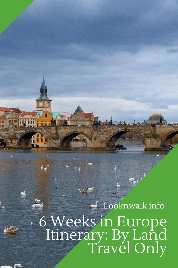 6 weeks in europe itinerary: by land travel only | travel europe