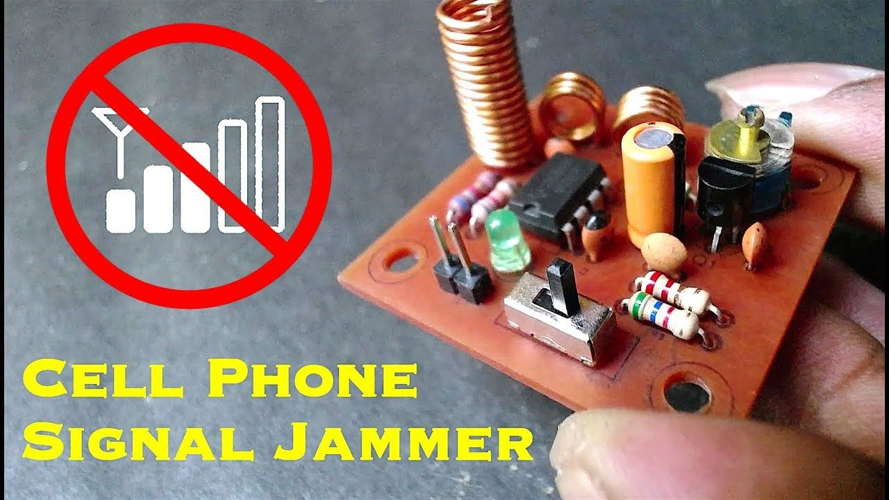 Affordable cell phone jammer , phone jammer project book