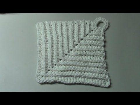 Haken Tutorial Omas Pannenlap Youtube Patchwork Crochet