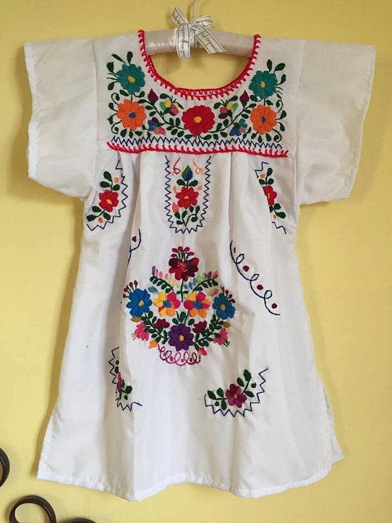 Mexican dress tunic frida kahlo mexican party by Miamorcitocorazon ...