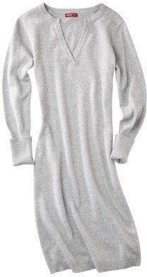 ShopStyle: Merona® Womens Split Neck Sweater Dress - Assorted Colors