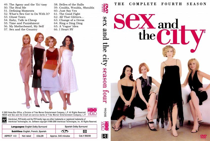 Sex and the city episodes on dvd