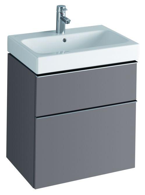 Keramag Icon Aufsatzwaschtisch.Keramag Icon Waschtisch Mit Unterschrank Platin 60cm Koupelna