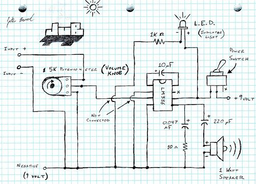 lm386063 Guitar amp, Guitars and Audio - p amp amp l sheet example