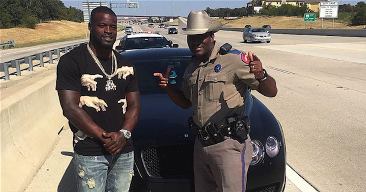 Dallas Cowboys running back Christine Michael got stopped