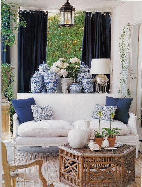 Ginger Jar O Famoso Vaso Azul Blog De Casamento Diy White Decor Blue White Decor White Rooms