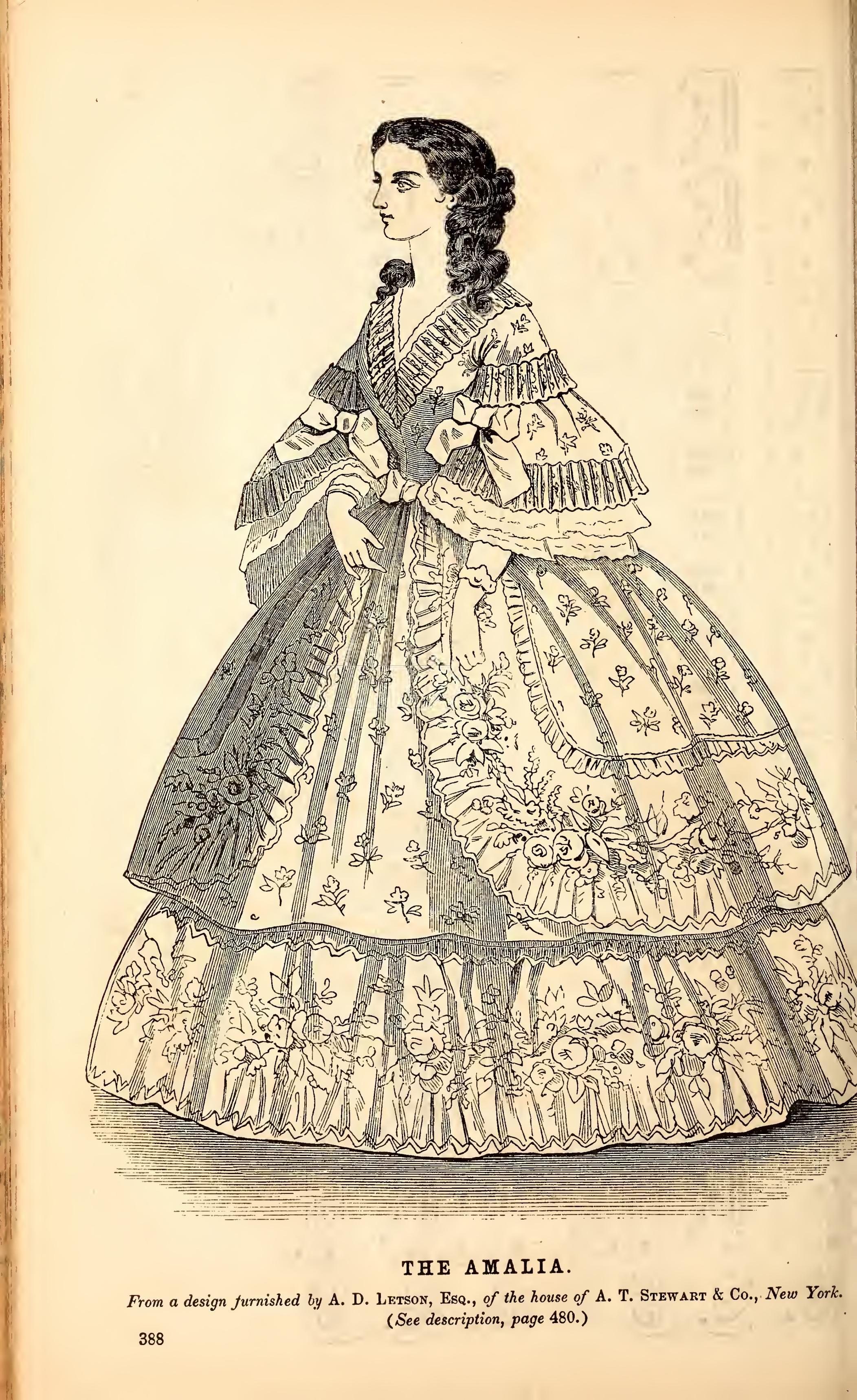 Godeys Ladys Book And Magazine Philadelphia 1860 MagazineColoring BooksColouringSouthern BelleColour