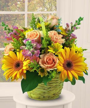 Autumn Surprise by Beneva Flowers, Sarasota Florist. A wonderful gift for all occasions!
