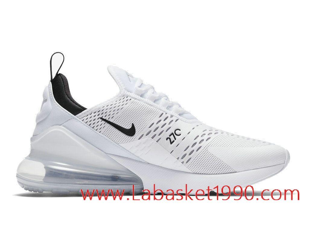 Nike Air Max 270 Chaussures Nike Basket Pas Cher Pour Homme Blanc Noir  AH8050-100-Achetez en ligne les articles signés Nike.