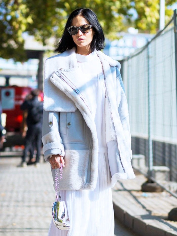 This Is What Fashion Pros Wear When it Gets REALLY Cold via @WhoWhatWearUK