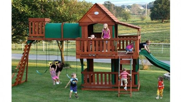 Exceptionnel Win A Backyard Discovery Woodridge Playset