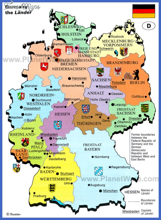 Germany Map - http://toursmaps.com/germany-map.html | Tours Maps ...