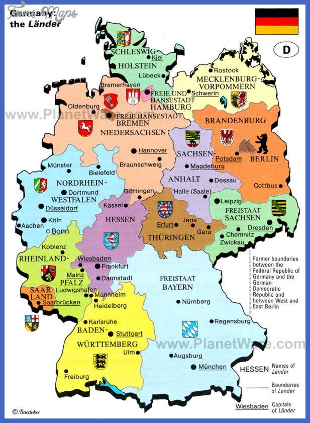 Germany Map httptoursmapscomgermanymaphtml Tours Maps
