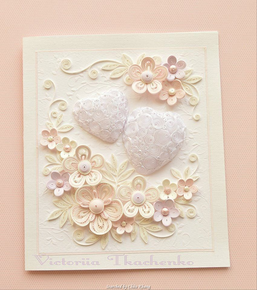 Victoriia Tkachenko Quilled Wedding Cards Searched By Chau Khang