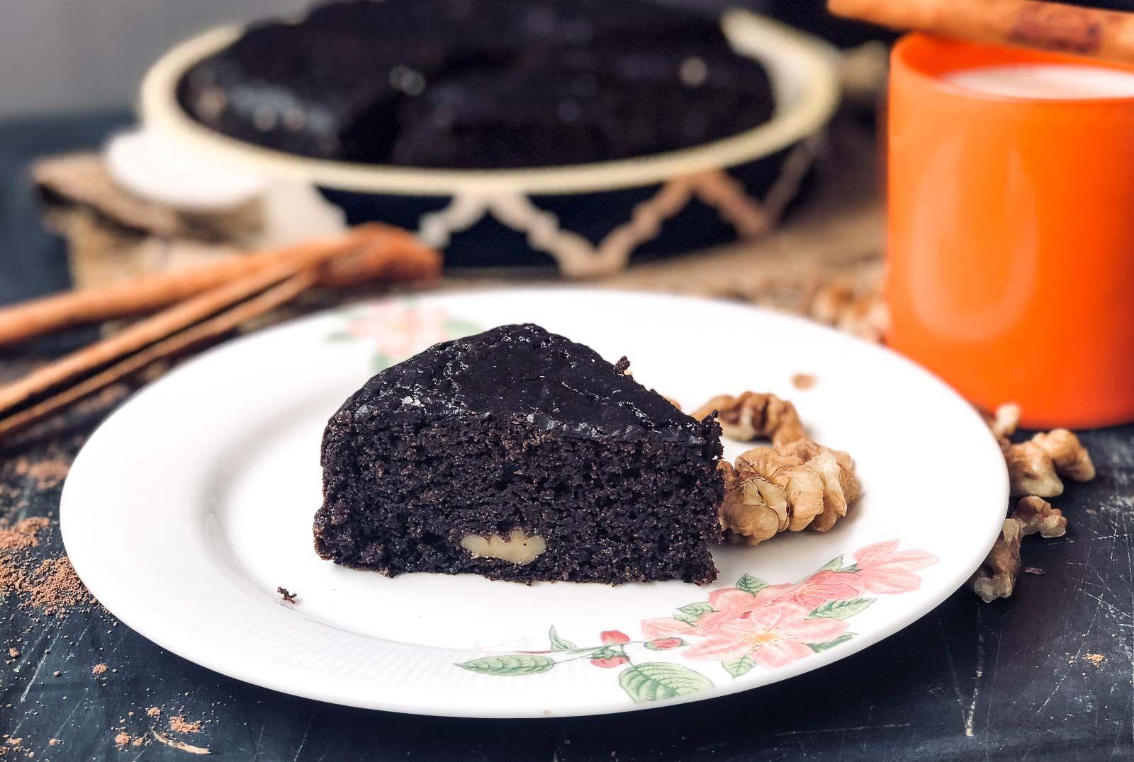 Eggless Chocolate Ragi Cake - Pressure Cooker Cake (Sand ...