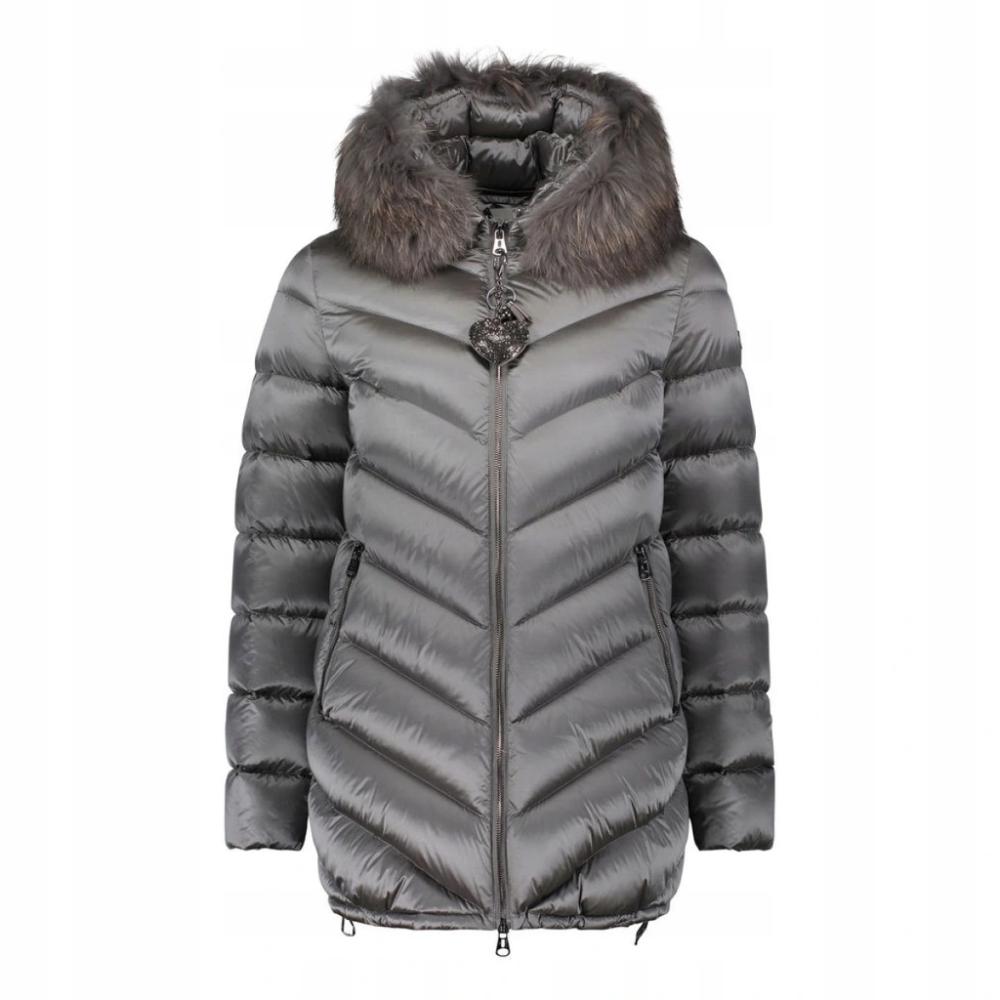 Betty Barclay Kurtka Puchowa 4304 Szara Roz 36 7621689881 Oficjalne Archiwum Allegro Winter Jackets Jackets Roz