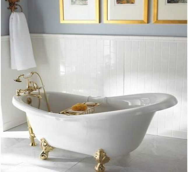 clawfoot tub foot pads. Interior Envy  22 Clawfoot Tubs We Love Interiors and Bathtubs