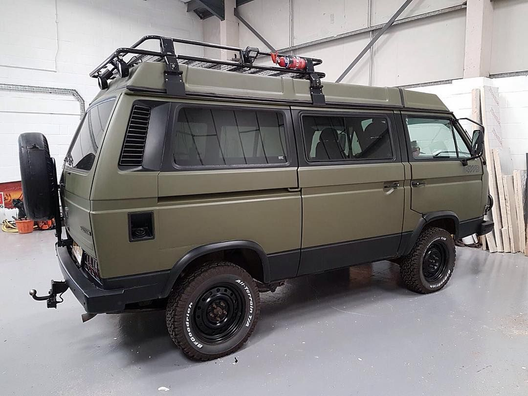 15 Incredible Off Road Vans That Will Make You Drool Vw Syncro