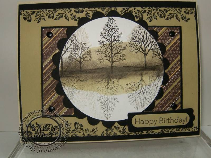 Lovely as a Tree by kaygee47 - Cards and Paper Crafts at Splitcoaststampers