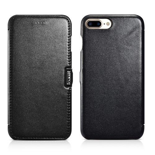 ICARER Luxury Series Genuine Leather Magnetic Flip Case for iPhone 7 Plus 5.5 Inch