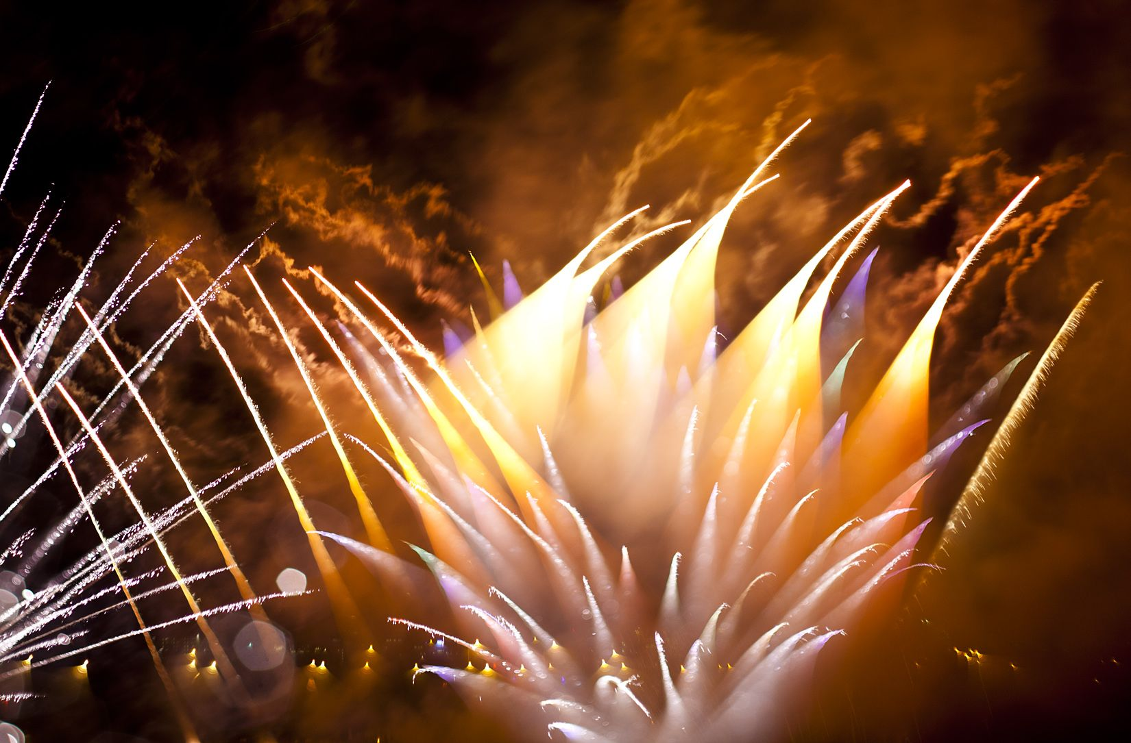 Long Exposure Fireworks Like You've Never Seen Before
