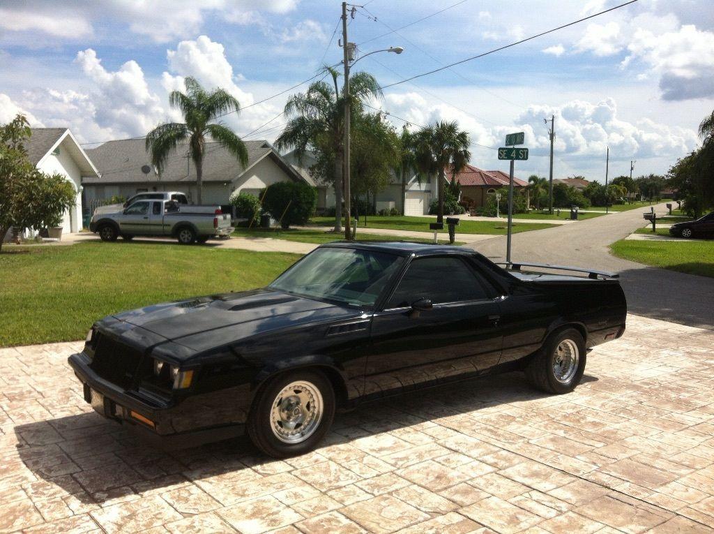 1987 Buick Grand National Front Clip 1984 Chevrolet El Camino Pickup Custom Buick Grand National 1987 Buick Grand National Grand National