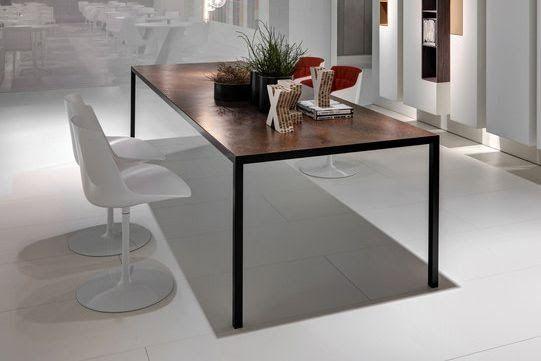 Mdf italia Lim 3.0 Tafel en stoelen, Keramische tafel, Tafel