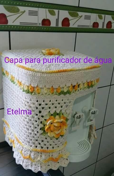 Capa para purificador | Capa para galón de agua. | Pinterest ...