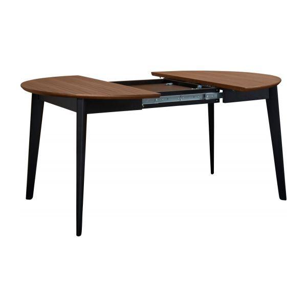 Moder Table en noyer et noire Tables Pinterest Tables