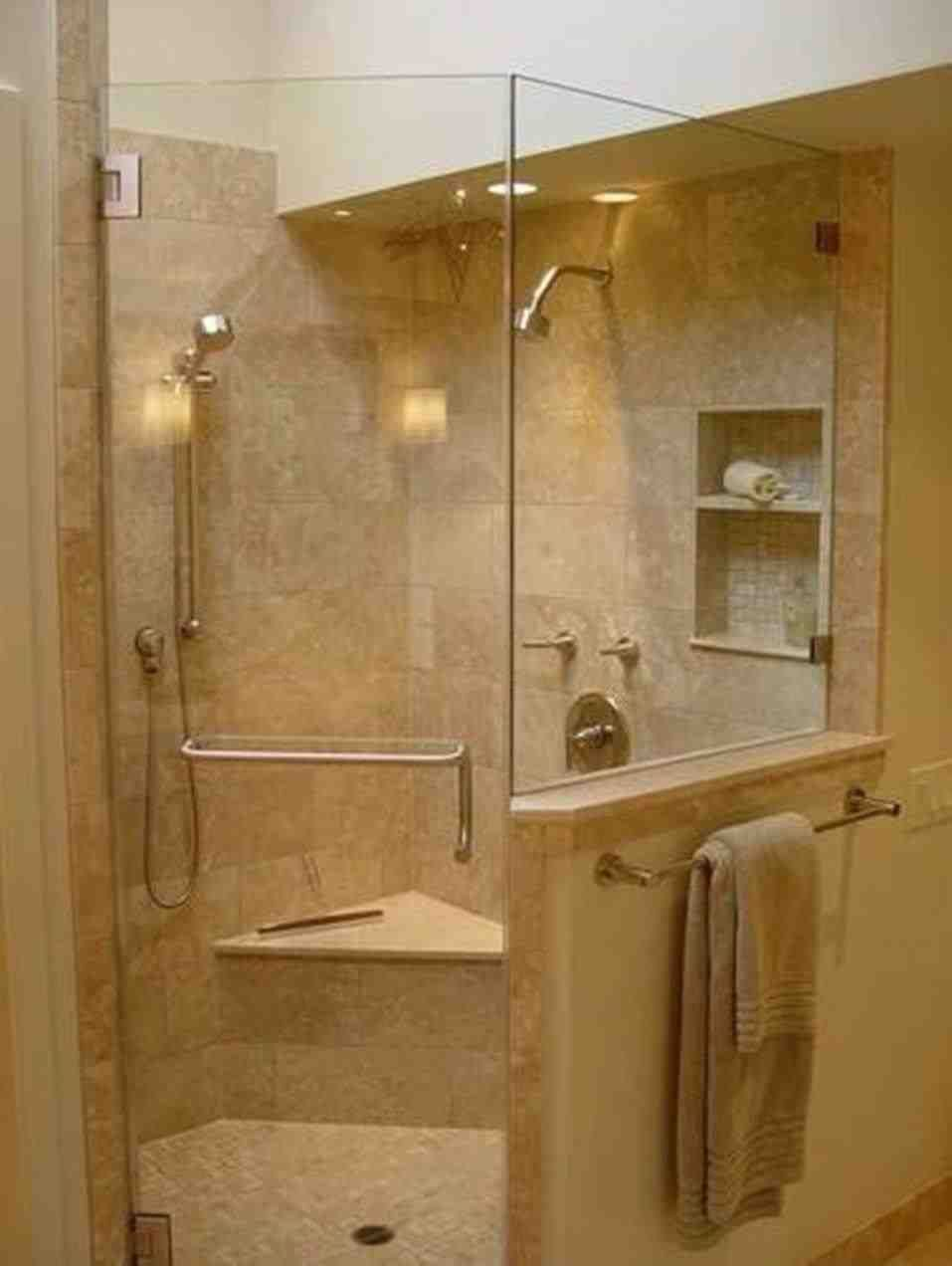 This Fiberglass Tub Shower Combo Image Of Bathroom Tub And Shower Ideas Rectangle White Porcelain Master Bathroom Shower Corner Shower Stalls Corner Shower