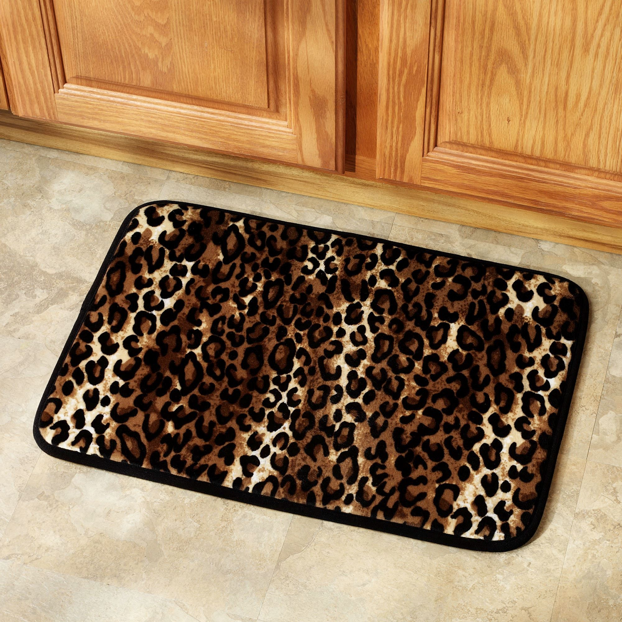 Leopard Print Bathroom