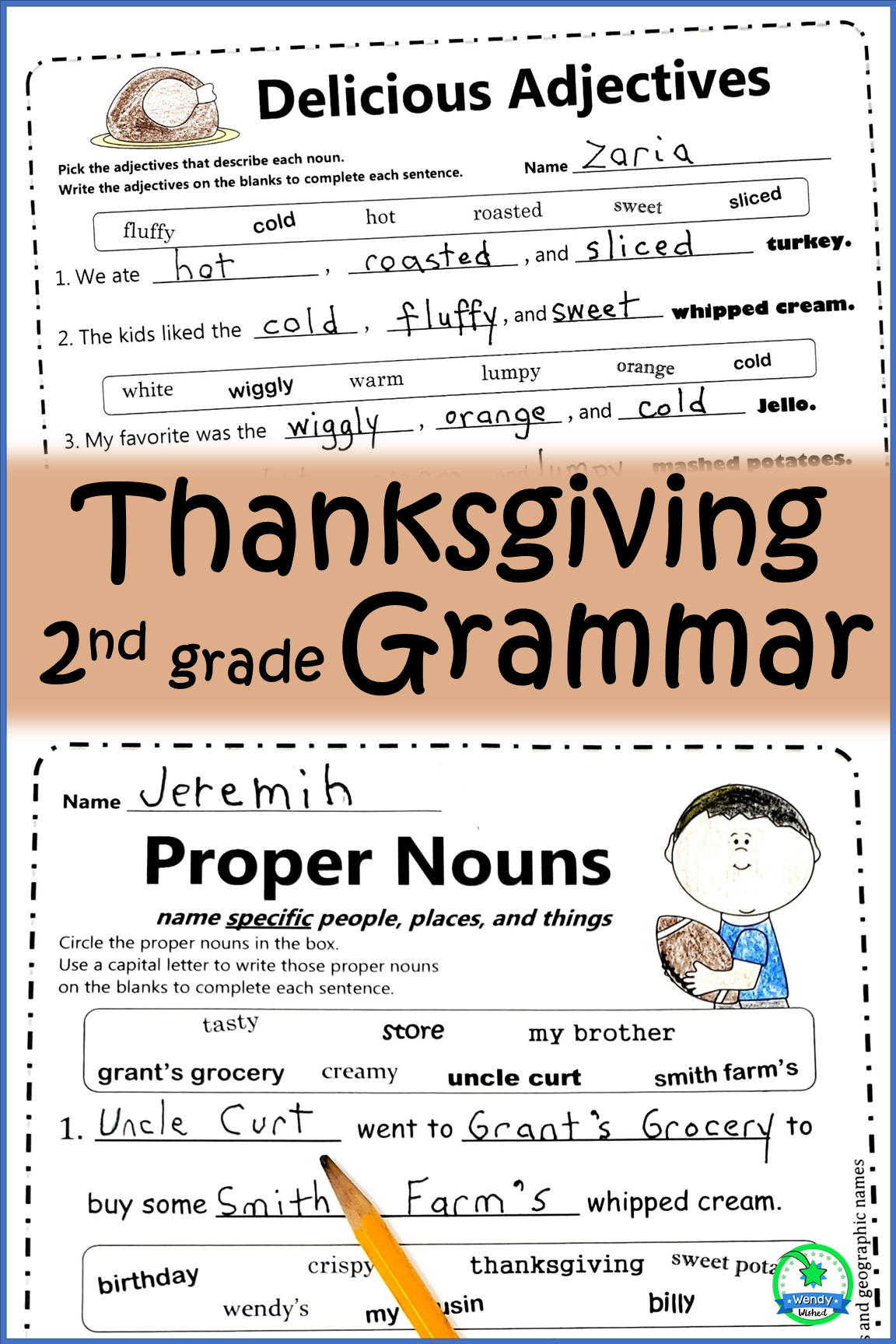 Common Core Second Grade Language Standards Are Covered