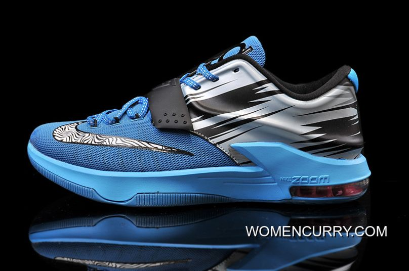 watch 9aa5a 8d09b Nike KD 7 Light Lacquer Blue Clearwater-Total Orange-White Lastest, Price    84.00 - Women Stephen Curry Shoes Online
