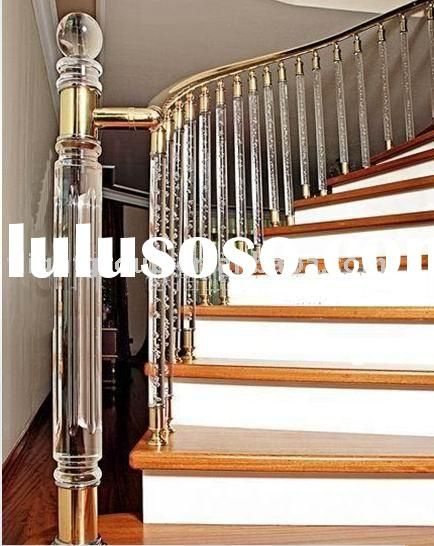 Best Acrylic Handrails For Stairs Check Out Rustic Wood Railing 400 x 300
