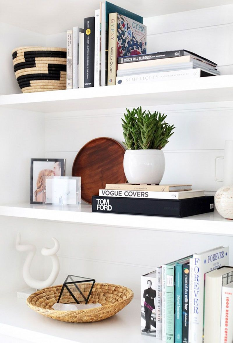 21 Interesting Accessories To Make Your Bookshelves Wow The Everygirl Home Decor Decorating Shelves Interior