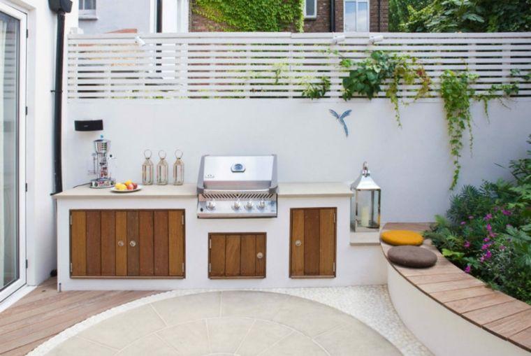 Cocinas de exterior modernas y originales   Exterior moderno, Diseño ...