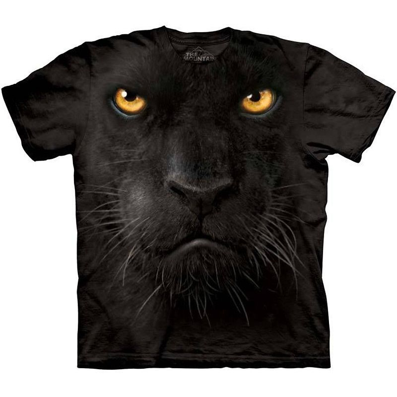 The Mountain BLACK PANTHER FACE TShirt S3XL Leopard