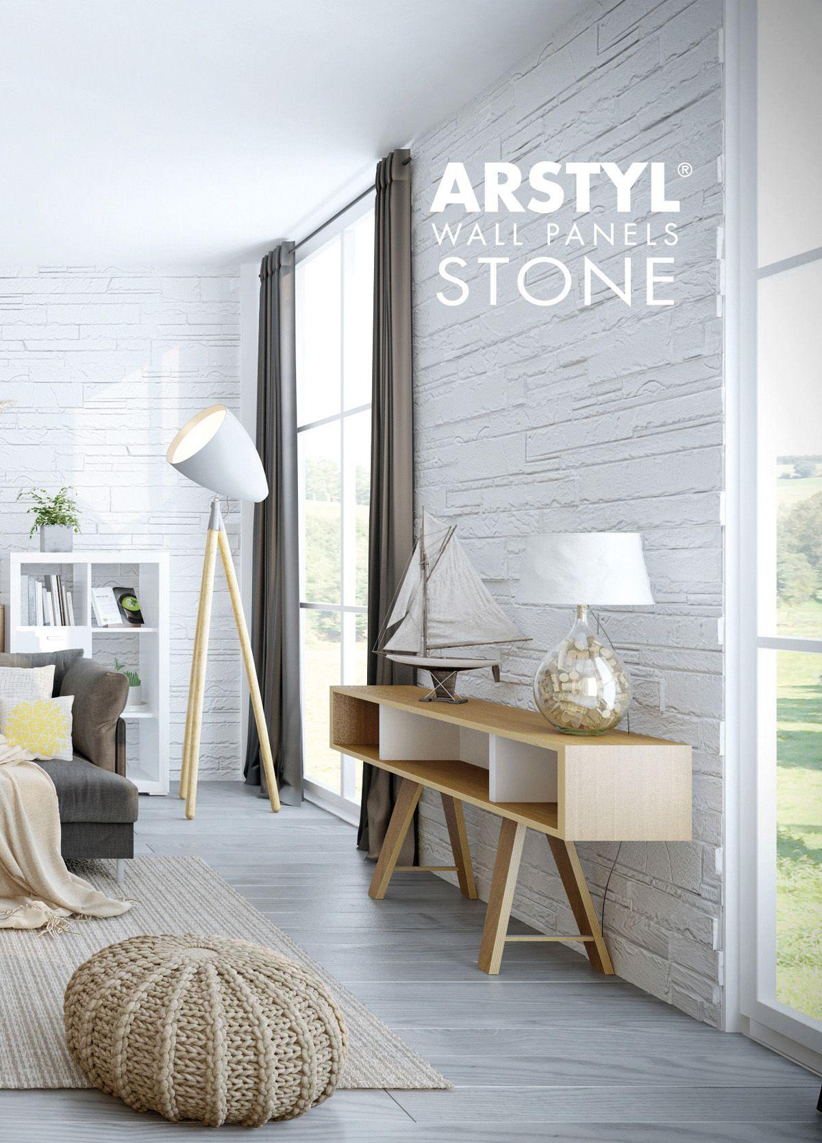 ARSTYLR Wall Panels STONE Livingroom