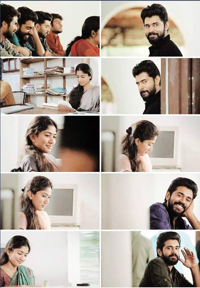 Premam Malar Cute movie scenes, Cute actors