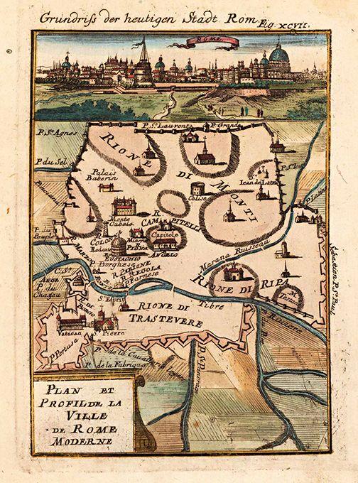 18x24 1570 Orbis Terrarum Italia Historic Vintage Map