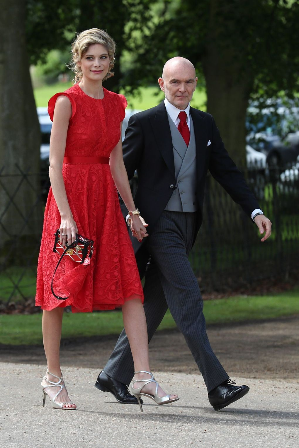 Wedding attendee dresses  Pippa Middletonus Wedding What The Guests Wore  Pippa Middleton