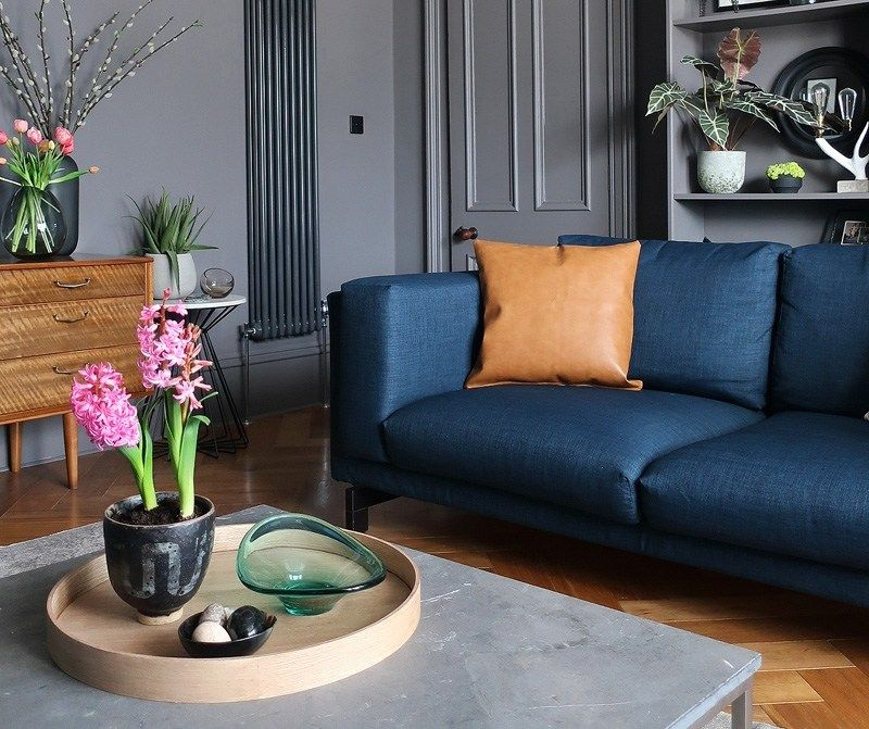 Groovy Ikea Norsborg 3 Seater Sofa In Blue Denim Kino Denim Couch Evergreenethics Interior Chair Design Evergreenethicsorg
