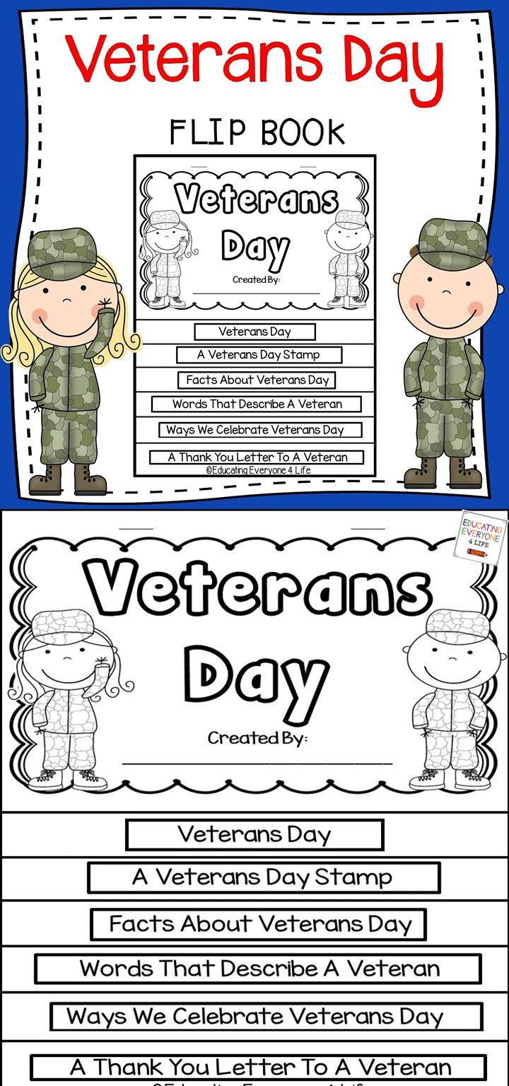 Why is veterans day important - Celebrate Veterans Day In The Classroom With This Interactive Flip Book Students Will Learn All
