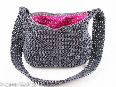 How to insert a zipper and line a crochet purse tutorial how to insert a zipper and line a crochet purse tutorial carriewolf ccuart Image collections