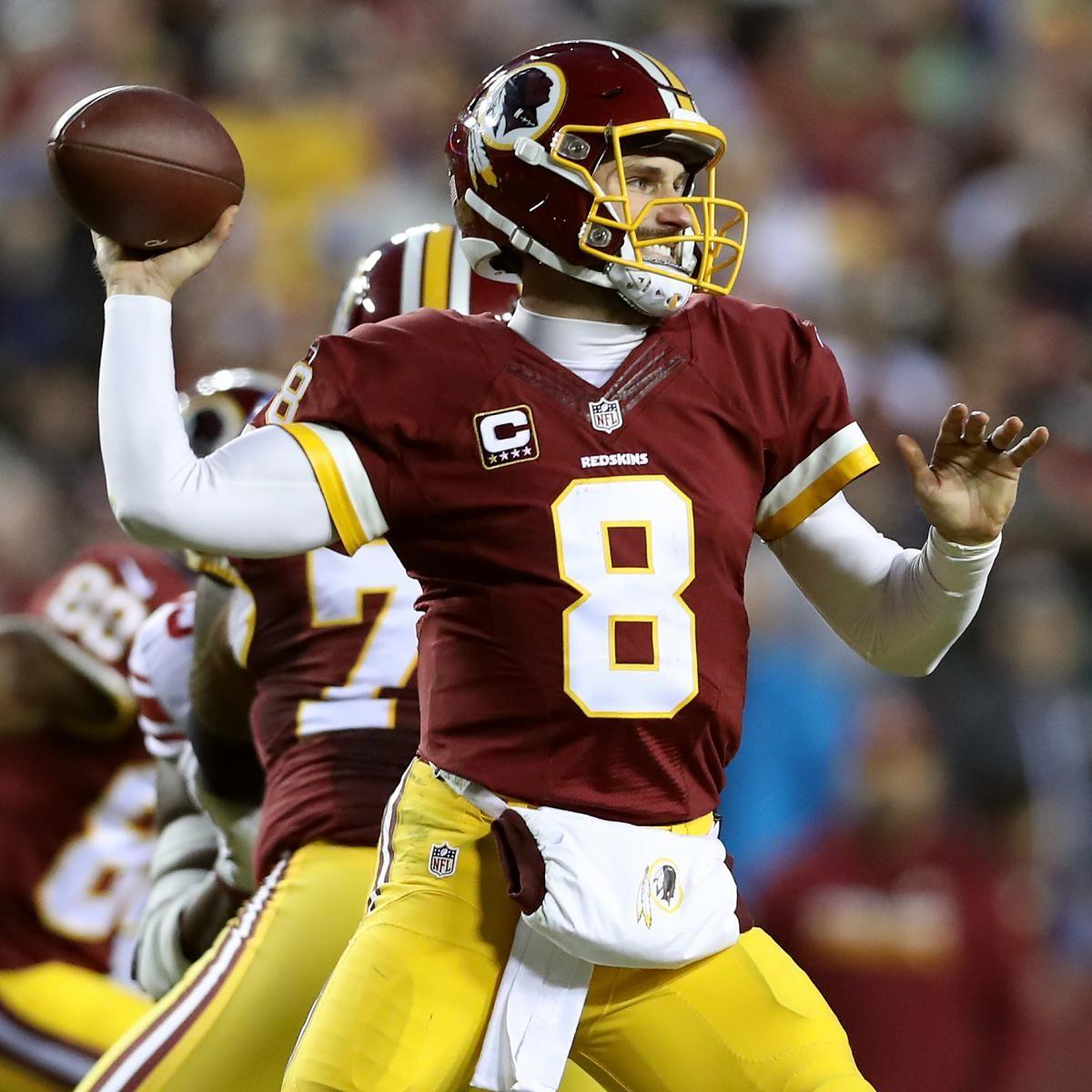 Kirk Cousins Trade Rumors Browns Pursuing Move For Redskins Qb Flag Football Flag Football Games Kirk Cousins