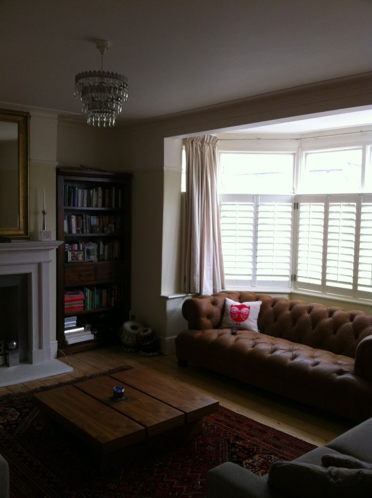 Peachy Brown Leather Sofa Chesterfield Wooden Floor Shutters In Pdpeps Interior Chair Design Pdpepsorg