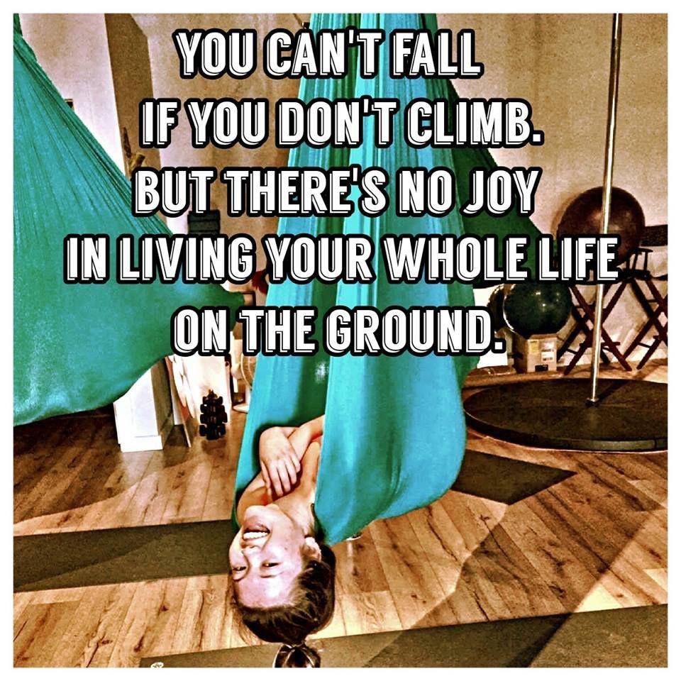 c9f3c5fe37409 You can t fall if you don t climb. But there is no joy in living ...